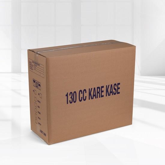 130CC KARE TATLI KASESİ (1 KOLİ-500 ADET)